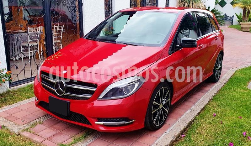 Mercedes Clase B 180 CGI  usado (2013) color Rojo Jupiter precio $198,000