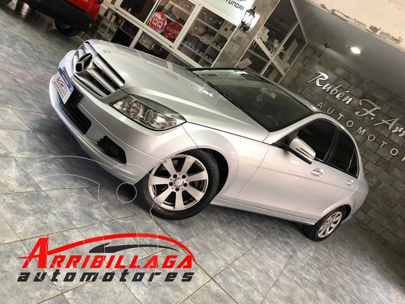 Mercedes Clase C C200 K usado (2010) color Plata Iridio precio $1.600.000