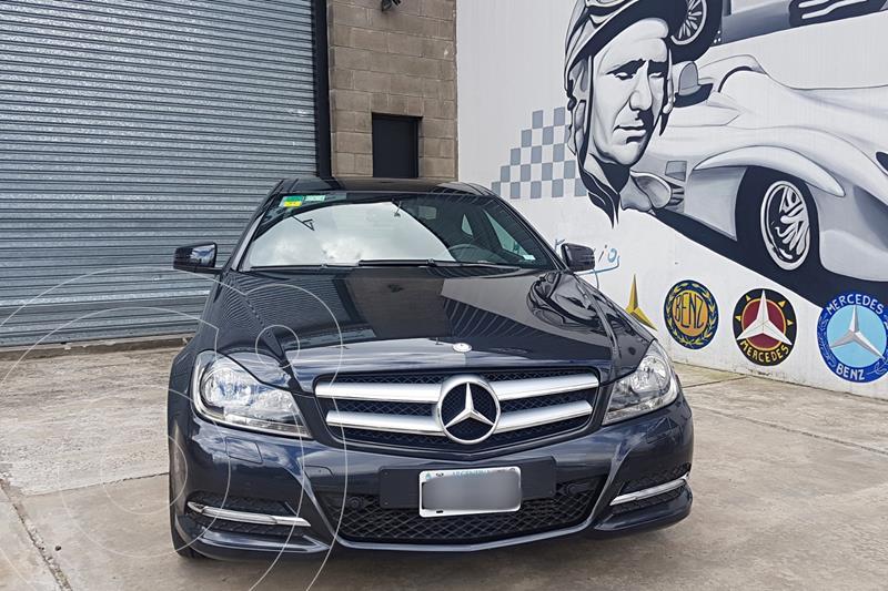Foto Mercedes Clase C C250 Coupe Blue Efficiency Sport usado (2012) color Negro precio u$s18.000