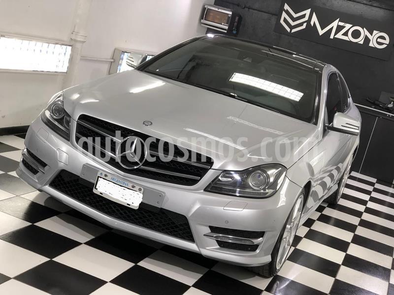 Mercedes Clase C C250 Coupe Blue Efficiency usado (2013) color Gris precio u$s25.900