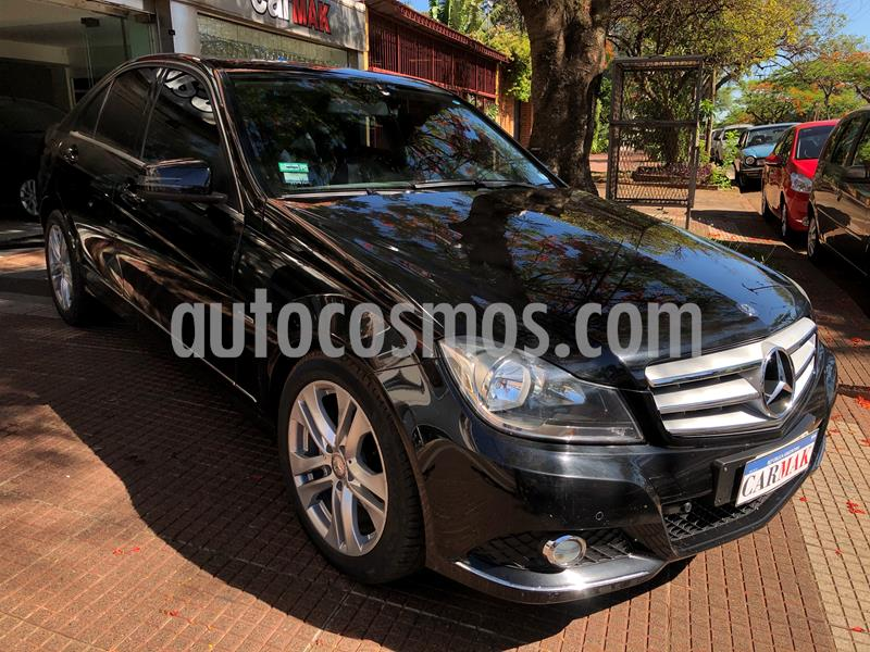 Mercedes Clase C C220 CDI Avantgarde Aut usado (2012) color Negro precio $2.999.990