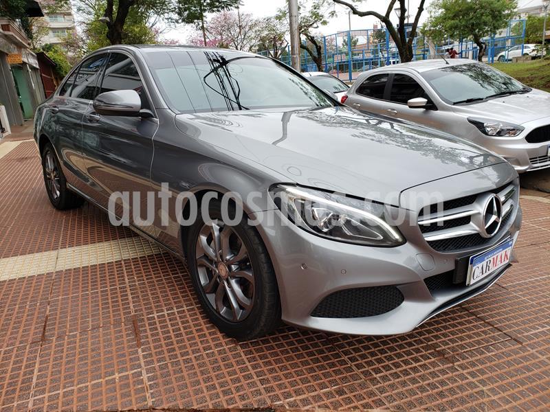 Mercedes Clase C C250 AMG-Line Aut usado (2016) color Gris precio $3.500.000