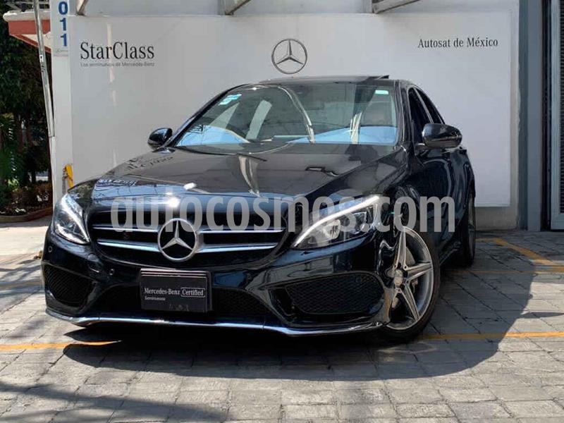 Mercedes Clase C 250 CGI Sport Aut usado (2017) color Negro precio $470,000