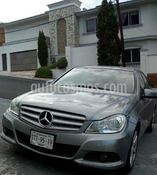 Mercedes Clase C 180 CGI Aut usado (2012) color Gris precio $185,000