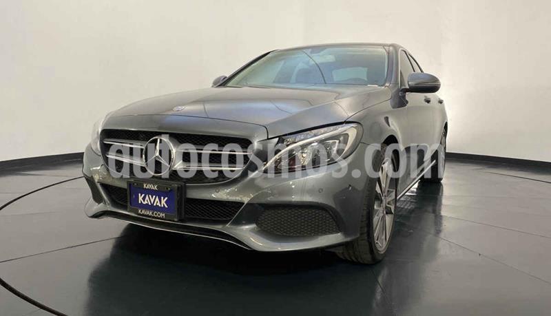 Mercedes Clase C 200 Sport Aut usado (2017) color Gris precio $419,999
