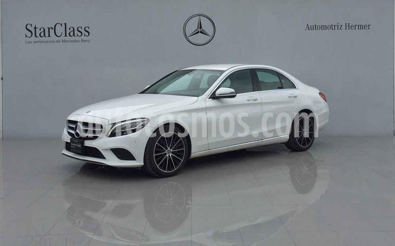 Mercedes Clase C 200 Sport Aut usado (2020) color Blanco precio $649,900