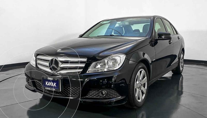 Mercedes Clase C 180 Aut usado (2015) color Negro precio $182,999