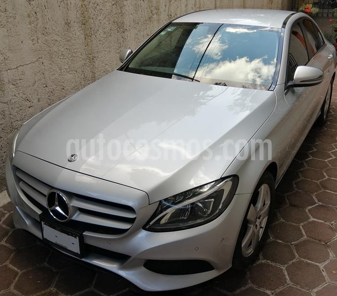 Mercedes Clase C 180 CGI usado (2018) color Plata precio $350,000