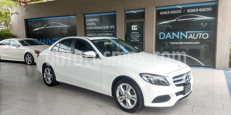Mercedes Clase C 200 Exclusive Aut usado (2017) color Blanco precio $369,000