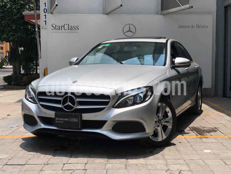 Mercedes Clase C 200 CGI Exclusive usado (2018) color Plata precio $460,000