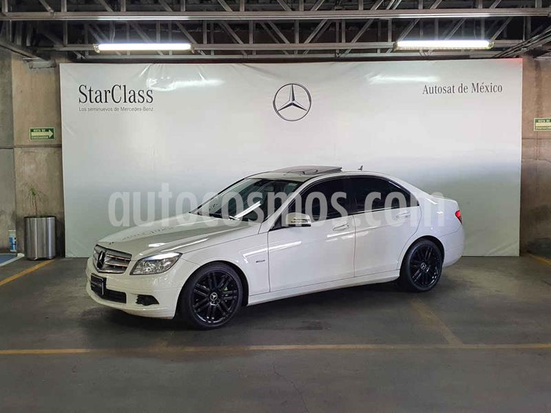 Mercedes Clase C 200 CGI Exclusive Aut usado (2011) color Blanco precio $169,000