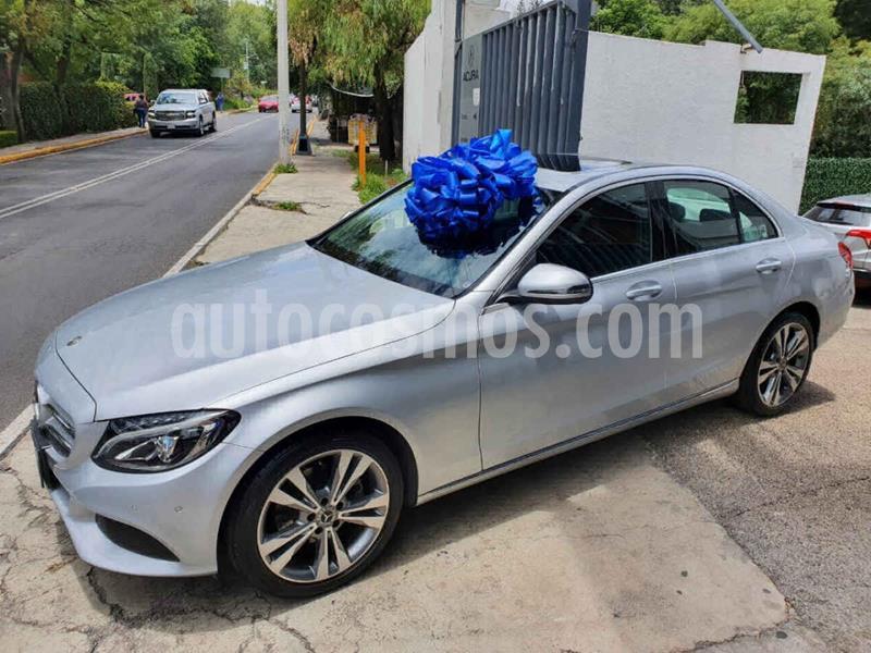 Mercedes Clase C 200 Sport Aut usado (2018) color Plata Dorado precio $475,100