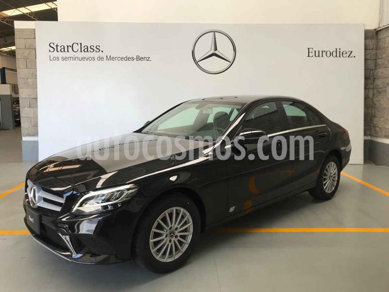 Mercedes Clase C 200 Aut usado (2020) color Negro precio $599,000