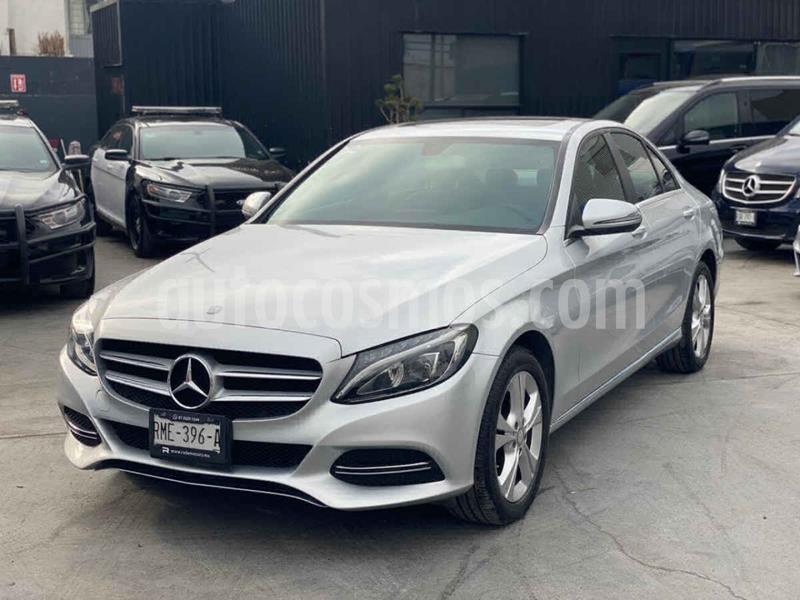 Mercedes Clase C 200 Exclusive Aut usado (2016) color Plata precio $329,800