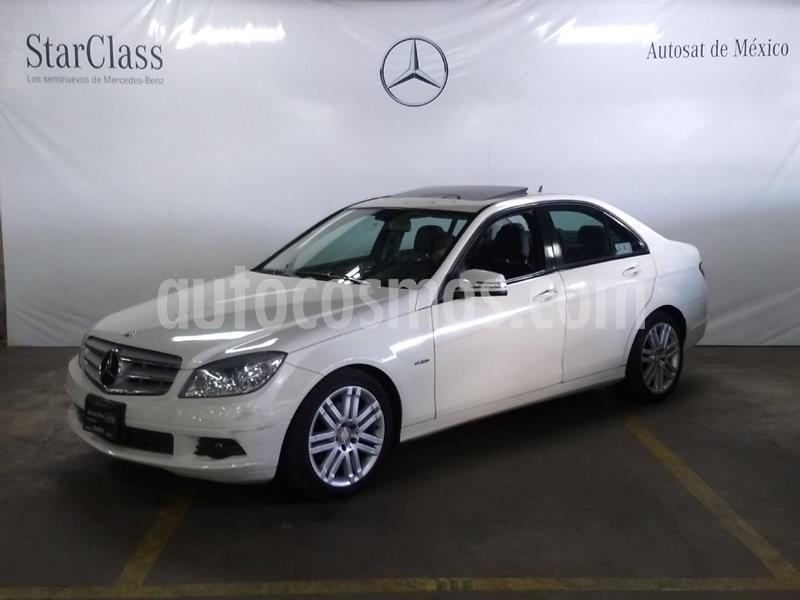Mercedes Clase C 200 CGI Sport Aut usado (2011) color Blanco precio $159,000