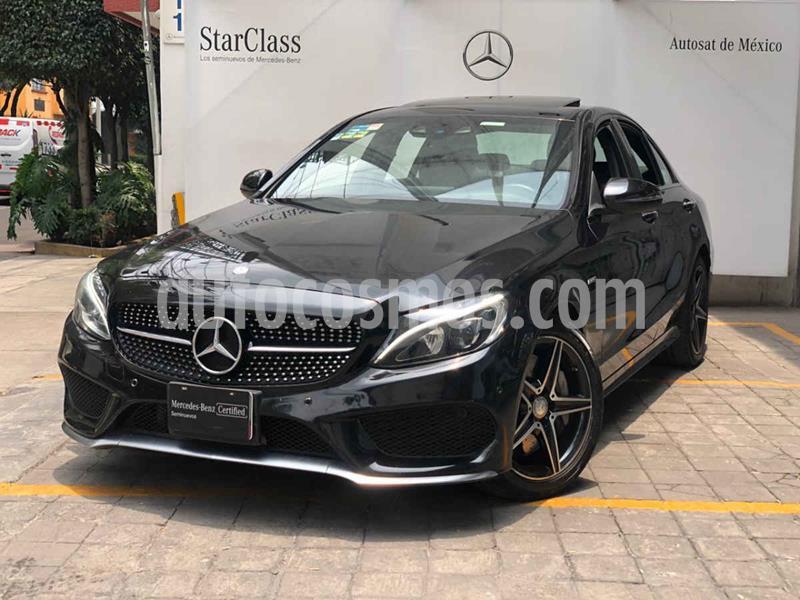 Mercedes Clase C 450 CGI 4Matic Sport Aut usado (2016) color Negro precio $575,000