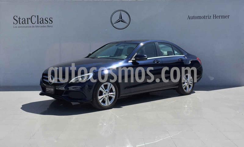Mercedes Clase C 200 Exclusive Aut usado (2017) color Azul precio $359,900