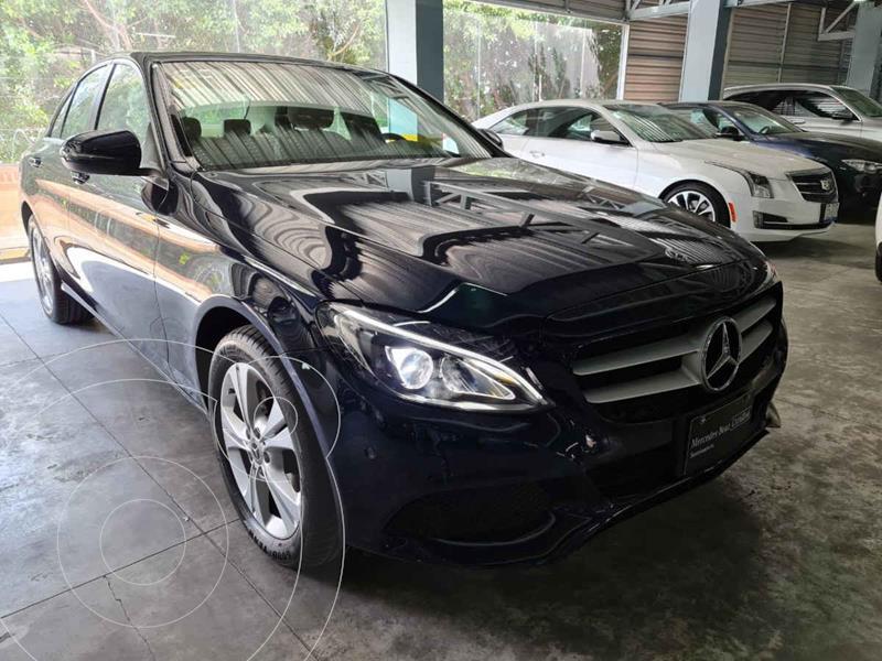 Mercedes Clase C 200 CGI Exclusive Aut usado (2018) color Azul precio $450,000