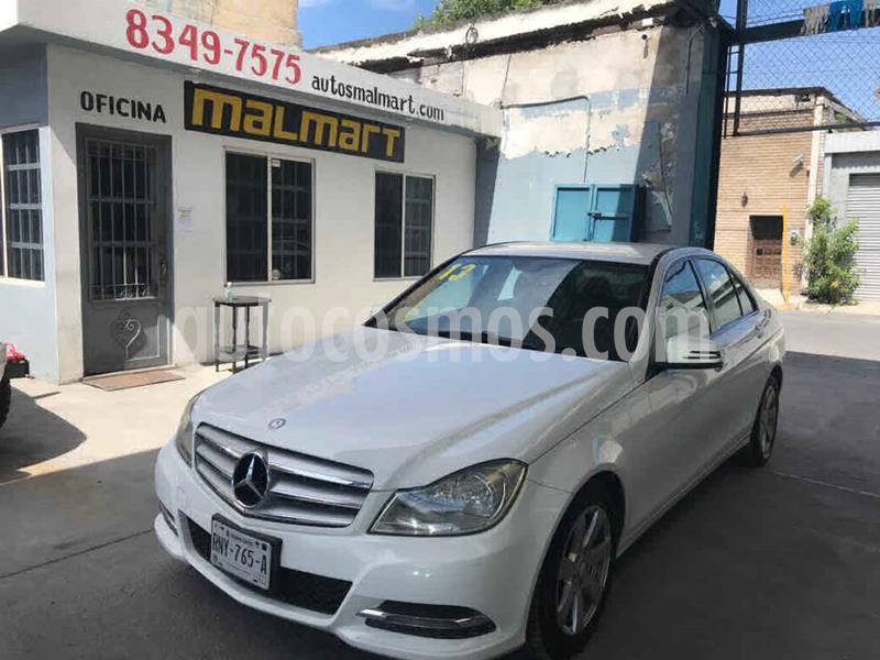 Mercedes Clase C 180 CGI Aut usado (2013) color Blanco precio $190,000