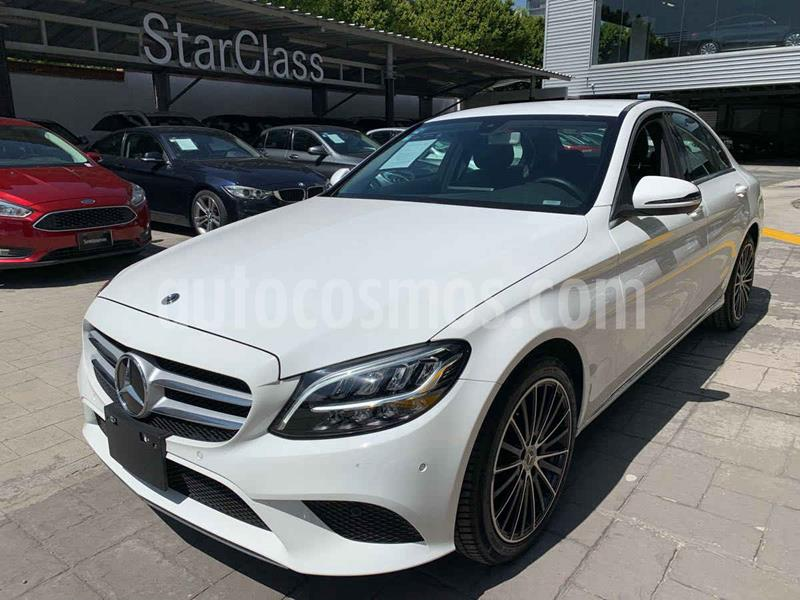 Mercedes Clase C 200 Sport Aut usado (2020) color Blanco precio $650,000
