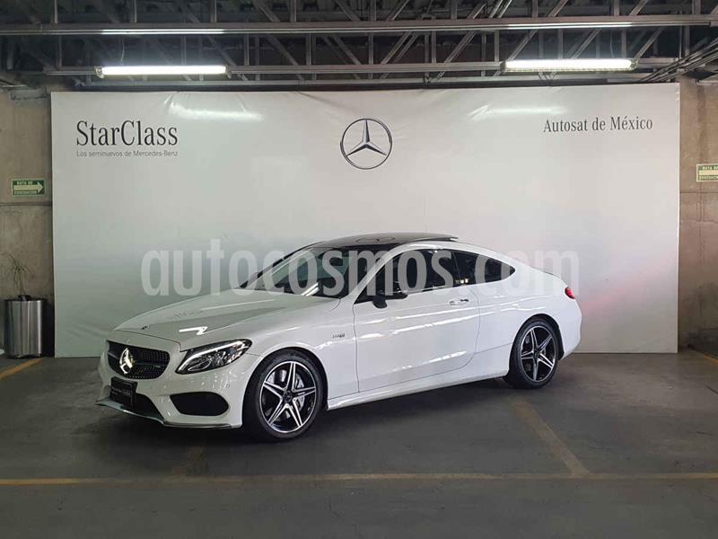 Mercedes Clase C C 43 AMG Coupe Aut usado (2018) color Blanco precio $799,000
