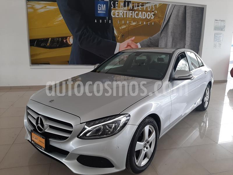 Mercedes Clase C 180 Aut usado (2018) color Plata Dorado precio $345,900