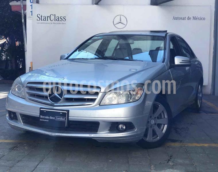 Mercedes Clase C 200 CGI Sport Aut usado (2010) color Plata precio $165,000