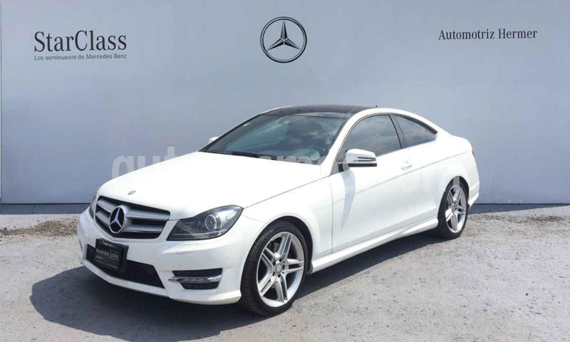 Mercedes Clase C 350 CGI Coupe Aut usado (2014) color Blanco precio $349,900