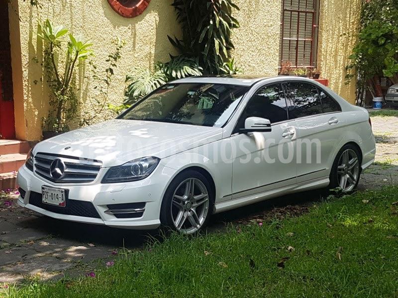 Mercedes Clase C 250 CGI Sport Aut usado (2013) color Blanco Diamante precio $239,980
