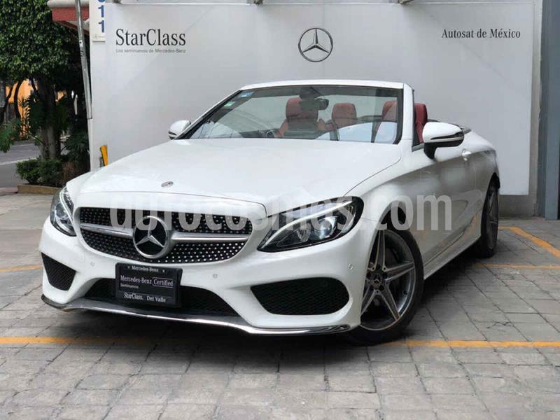 Mercedes Clase C 300 Convertible Aut usado (2018) color Blanco precio $820,000