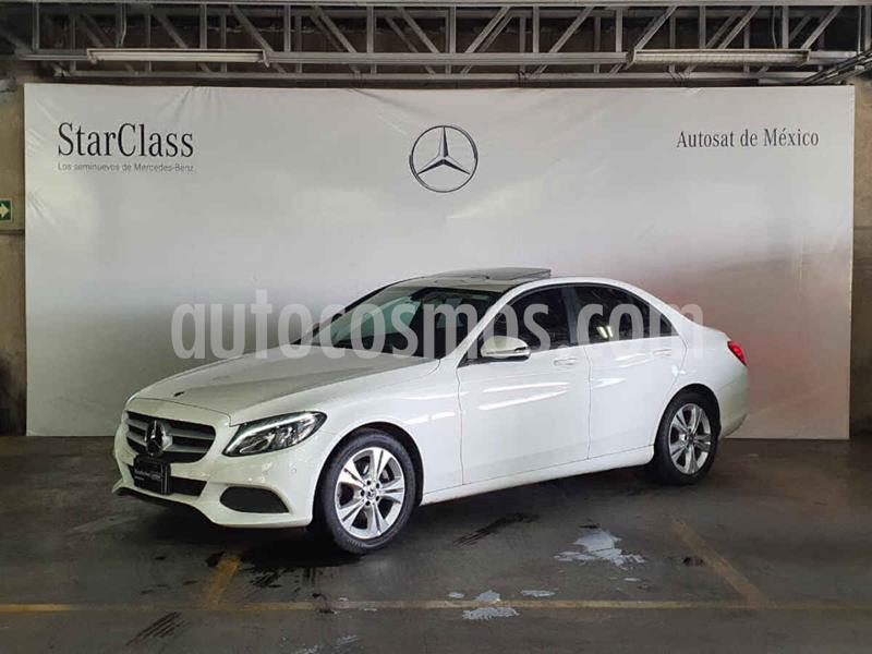 Mercedes Clase C 200 CGI Exclusive Aut usado (2018) color Blanco precio $479,000