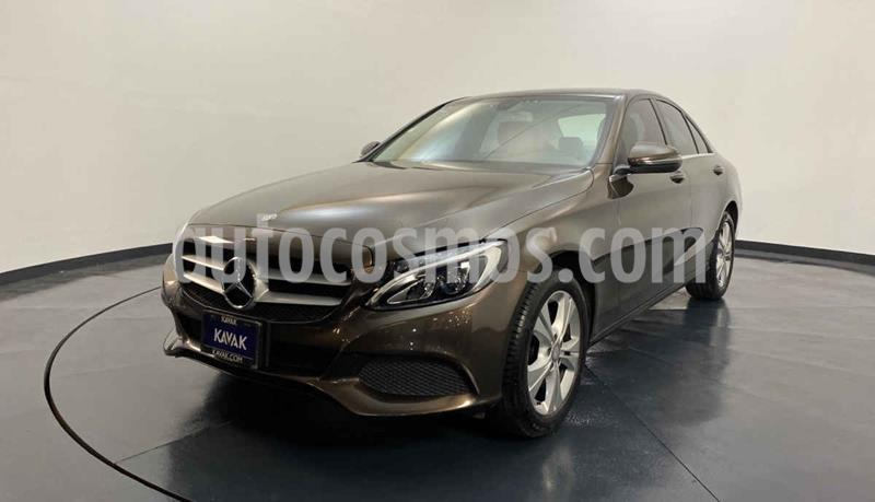 Mercedes Clase C 200 Exclusive Aut usado (2016) color Cafe precio $354,999