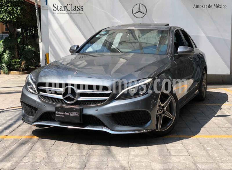 Mercedes Clase C 250 CGI Sport Aut usado (2018) color Gris precio $560,000