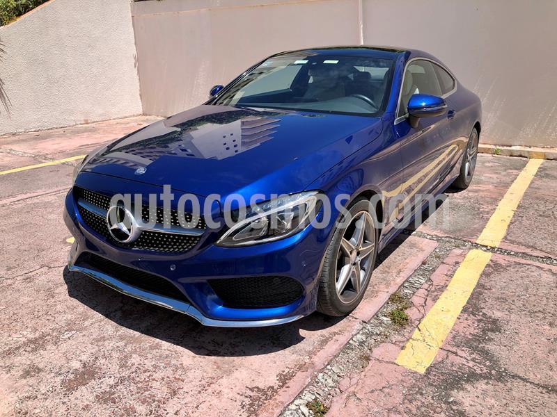 Mercedes Clase C 250 CGI Coupe Aut usado (2017) color Azul precio $499,000