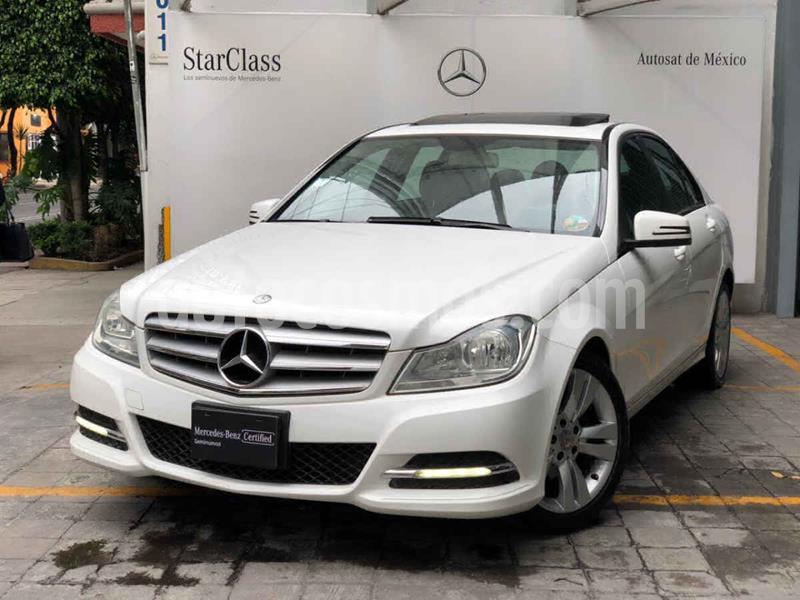 Mercedes Clase C 200 CGI Sport Aut usado (2013) color Blanco precio $235,000