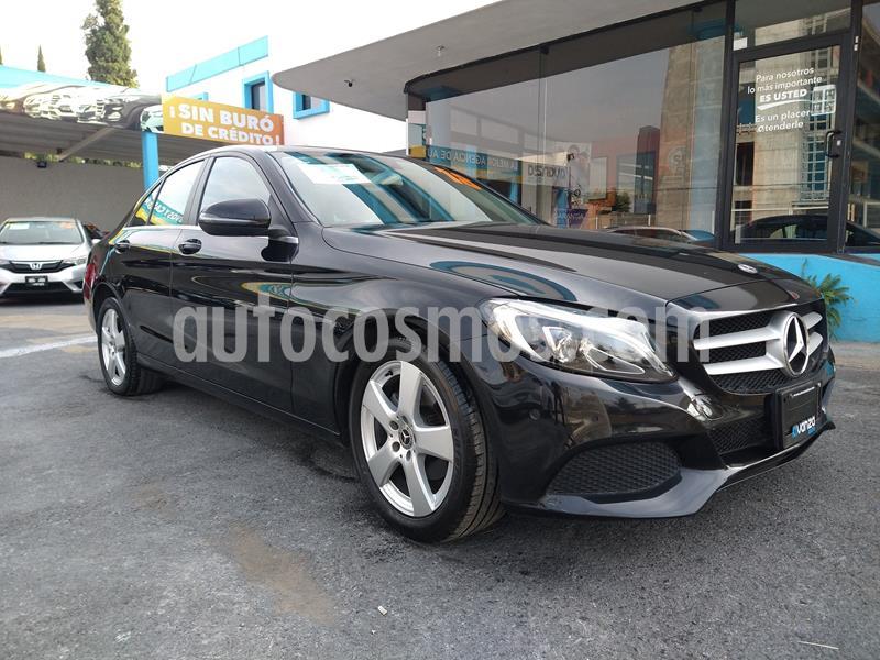 Mercedes Clase C 180 Aut usado (2018) color Negro precio $385,000