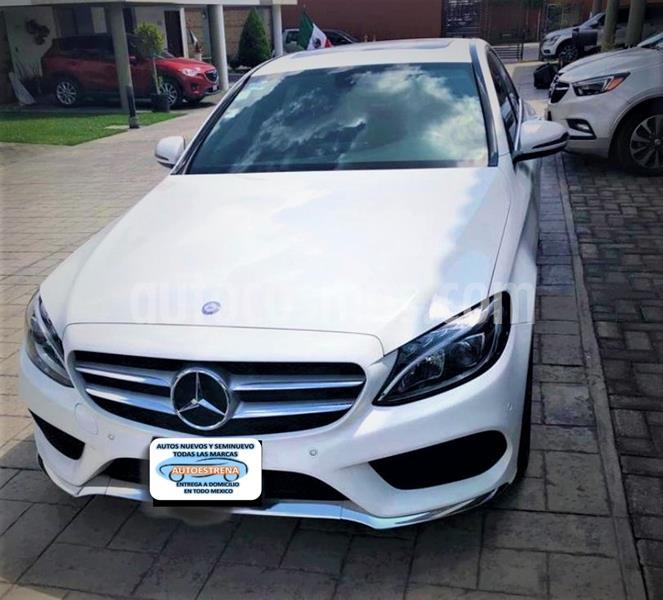 Mercedes Clase C 250 CGI Sport Aut usado (2017) color Blanco precio $404,999