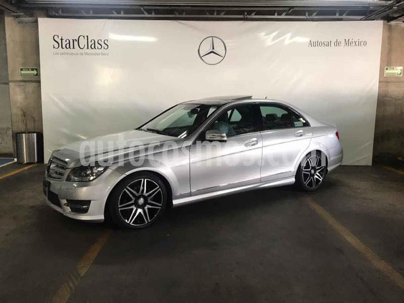 Mercedes Clase C 200 CGI Sport Plus Aut usado (2014) color Plata precio $289,000