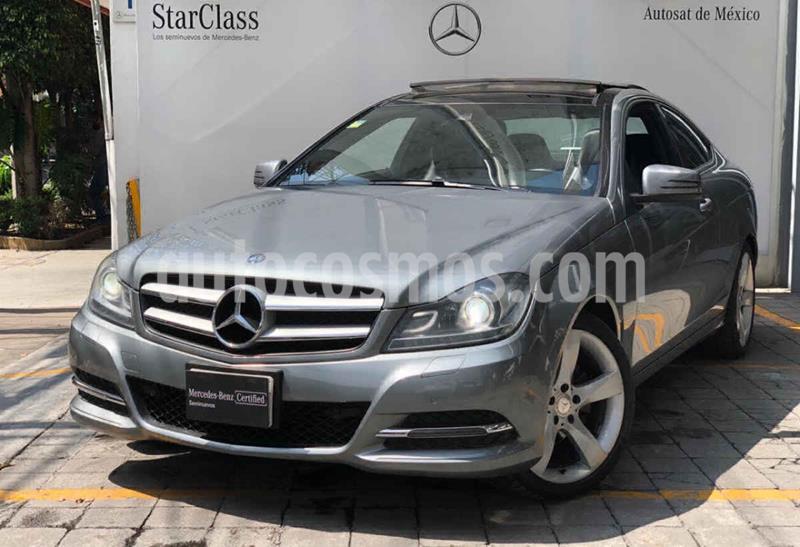 Mercedes Clase C 250 CGI Coupe Aut usado (2014) color Gris precio $295,000