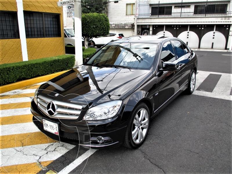 Mercedes Clase C 200 CGI Sport Aut usado (2011) color Negro precio $139,900
