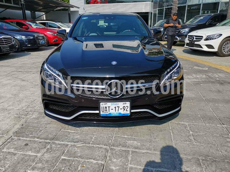 Mercedes Clase C 63 AMG S usado (2017) color Negro precio $1,190,000