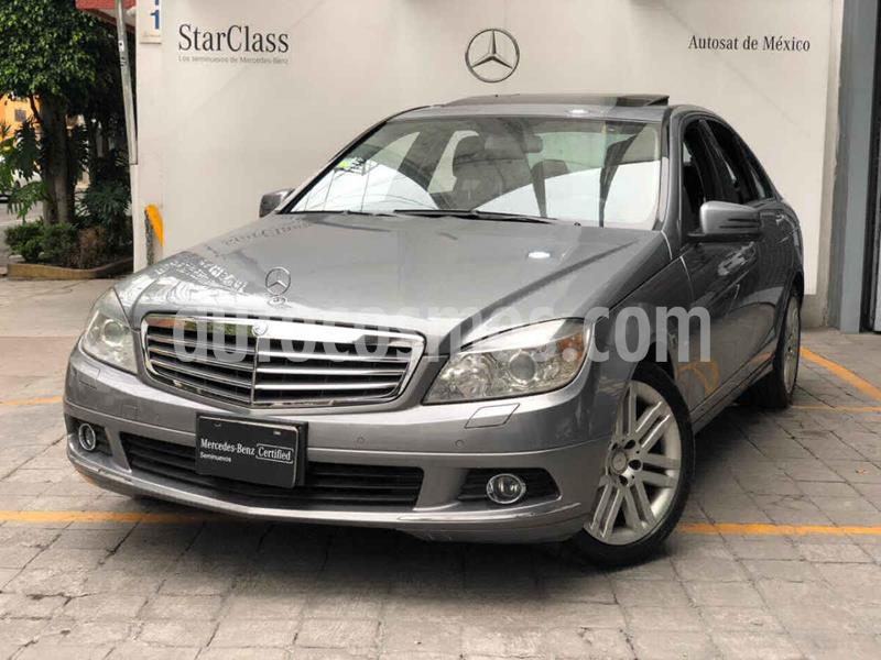 Mercedes Clase C 300 Elegance LTD usado (2010) color Gris precio $185,000