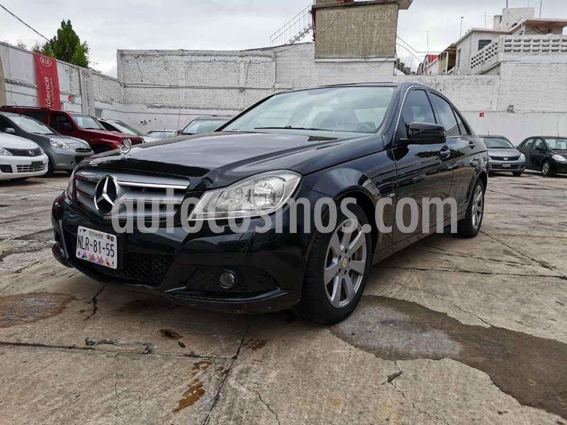Mercedes Clase C 180 CGI Aut usado (2012) color Negro precio $190,000