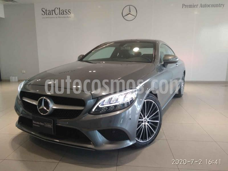 Mercedes Clase C 200 Coupe Aut usado (2020) color Gris precio $829,000