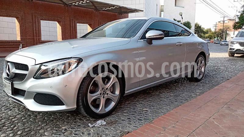 Mercedes Clase C 200 CGI Coupe Aut usado (2018) color Plata precio $525,000