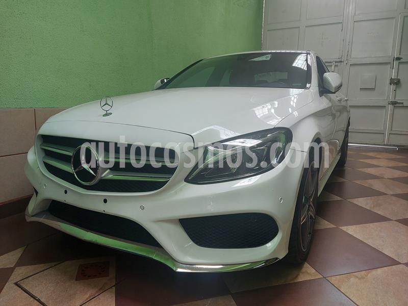 Mercedes Clase C 250 CGI Sport Aut usado (2016) color Blanco Calcita   precio $310,000