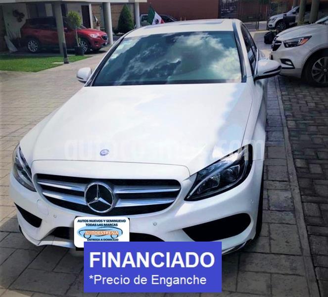foto Mercedes Clase C 250 CGI Sport usado (2017) color Blanco precio $80,999