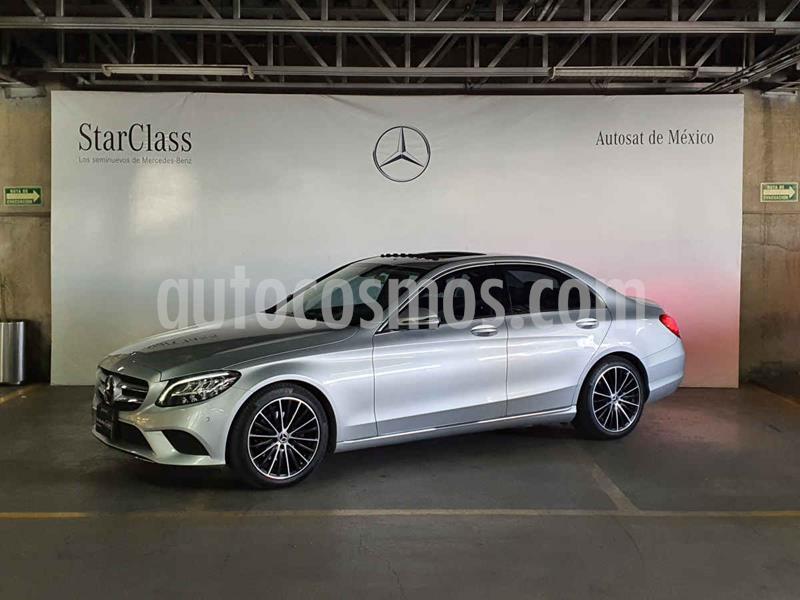 Mercedes Clase C 200 CGI Sport Aut usado (2019) color Plata precio $599,000