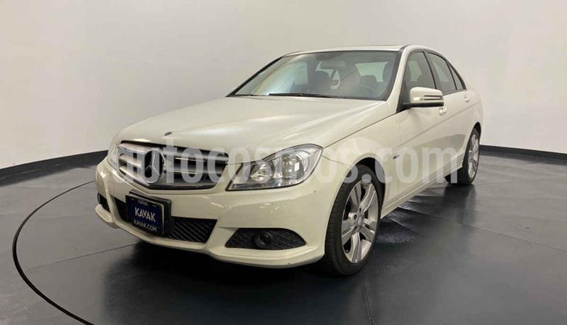 Mercedes Clase C 200 CGI Exclusive Aut usado (2012) color Blanco precio $214,999