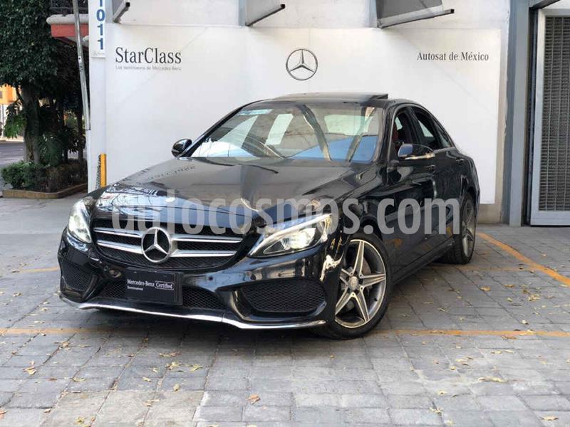 Mercedes Clase C 250 CGI Sport Aut usado (2016) color Negro precio $440,000
